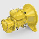 compresseur de gaz / stationnaire / électrique / à vis