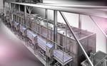 cuiseur industriel pour viande / à vapeur / automatique / batch