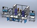 machine de production pour textiles / automatique