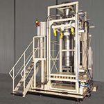 système de remplissage IBC / pour produits en vrac / totalement automatique / pondéral