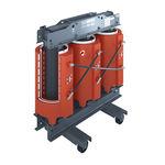 transformateur de distribution / enrobé résine / haute tension / à faible perte