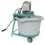 mélangeur à palettes / batch / solide / pour le béton