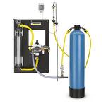 unité de filtration à charbon actif / pour eaux usées