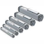 actionneur linéaire / pneumatique / compact