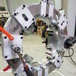 machine à tronçonner et à chanfreiner orbitale