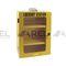 boîte portative / rectangulaire / en métal / blocable