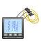 analyseur pour réseau électrique / de puissance / de tension / d'harmonique