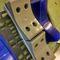 caisse en bois / de rouleaux de textile