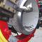machine de coupe à commande manuelle / de chanfreinage / pour extrémités de tubes / hydraulique