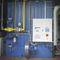 chaudière à fluide thermique / à gaz / à tubes de fumée / verticale