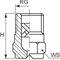 buse de pulvérisation / de refroidissement / pour liquides / à cône plein