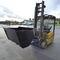 benne basculante hydraulique / pour déchets / pour chariot élévateur / pour sable
