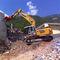 cisaille de démolition pour excavatrice