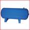 cuve pour air comprimé / en acier / cylindrique / horizontale