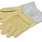 gant en cuir / de travail / de protection mécanique / isolant