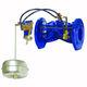 vanne à flotteur / à commande hydraulique / de contrôle de niveau / pour l'eau
