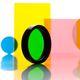 filtre optique de lumière visible / à bande étroite