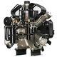 compresseur à piston / d'air respirable / à moteur électrique / stationnaire