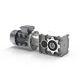 réducteur à engrenage hélicoïdal / orthogonal / 200 - 500 Nm / 100 - 200 Nm