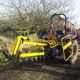 trancheuse de sol à chaînes / montée sur tracteur