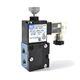 distributeur pneumatique à clapet / à commande directe / actionné par solénoïde / 4/2 voies