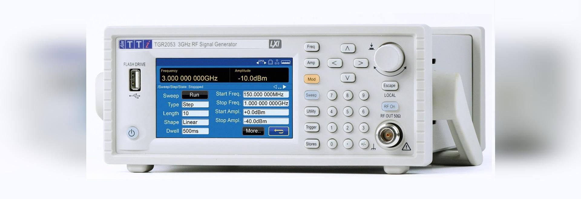 1.Générateurs de signaux RF 5/3 GHz