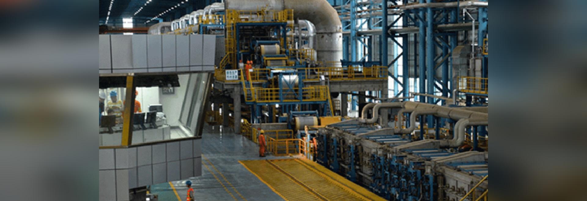 Application du détecteur de niveau de liquide à lames vibrantes Ring-21 dans le contrôle du niveau d'eau du four à rouleaux