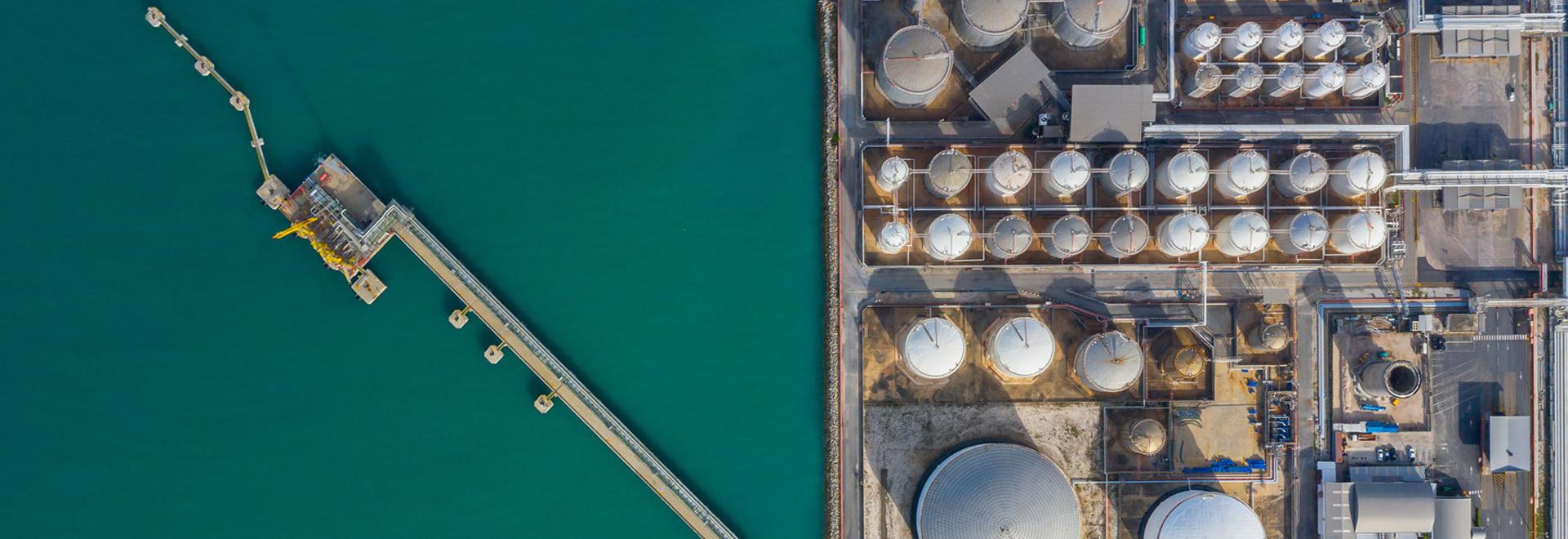 L'azote pour la prévention des explosions dans les raffineries de pétrole et les parcs de stockage du Golfe arabique