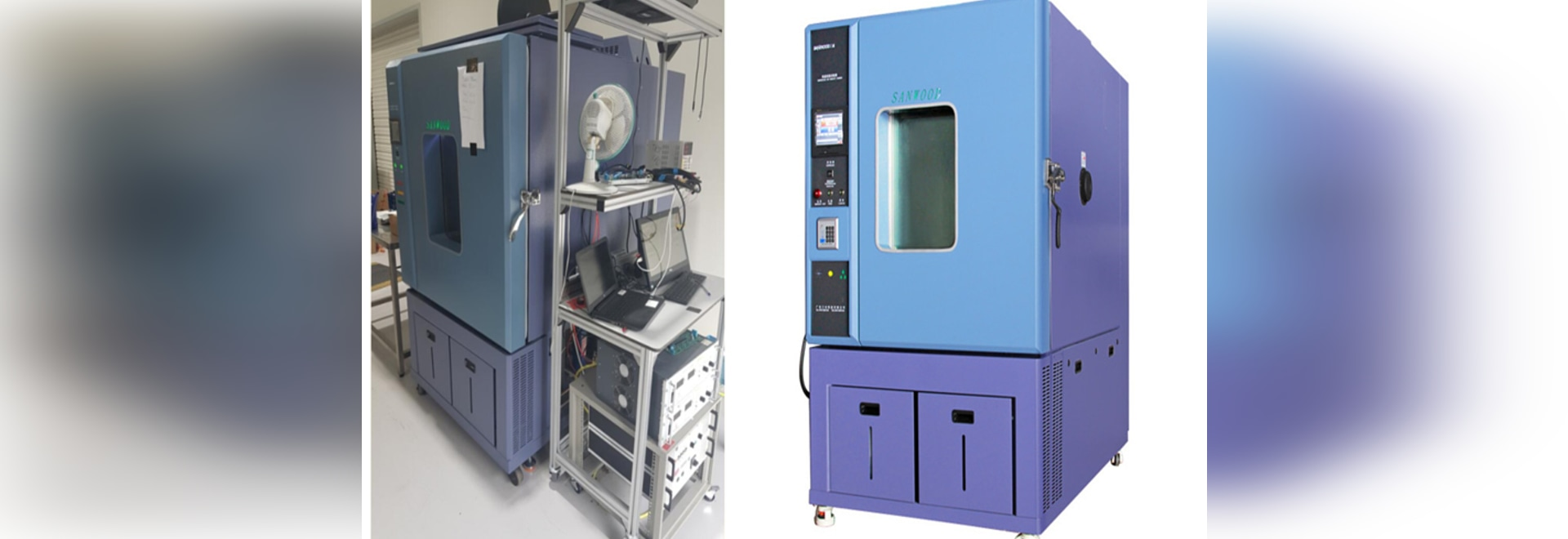 Cas de client de chambre d'essai de Sanwood : chambre d'essai de la température 1000L (et humidité)