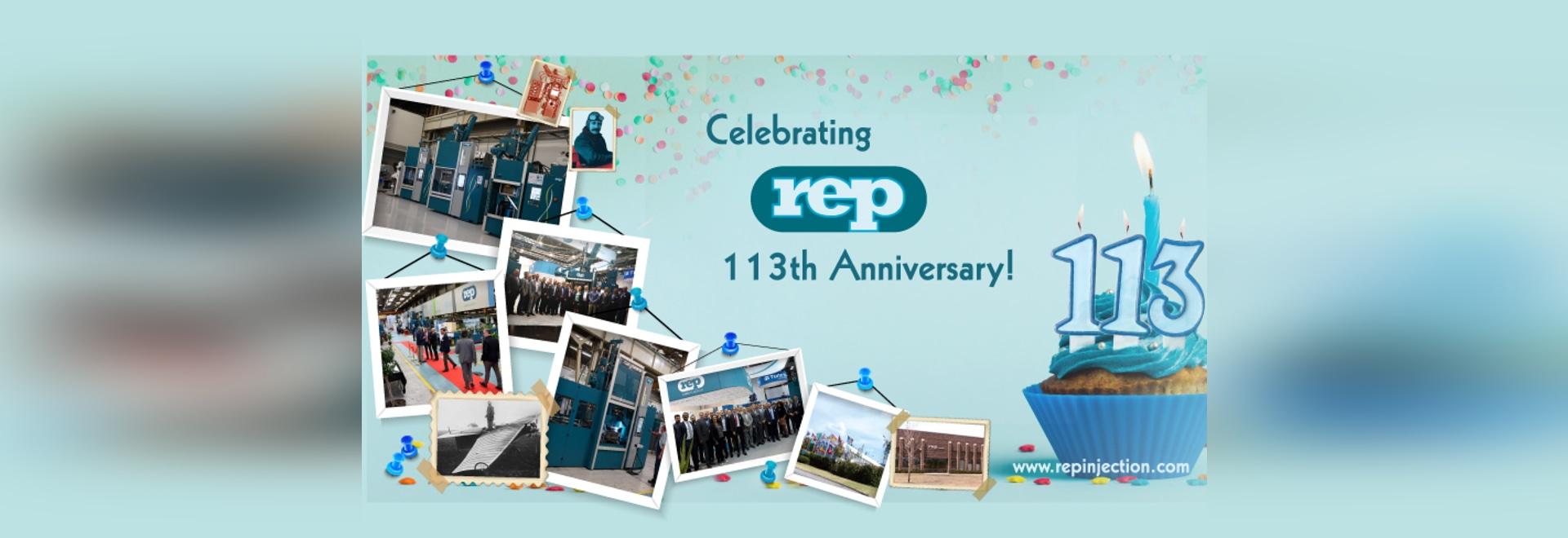 Célébrons le 113e anniversaire du REP !