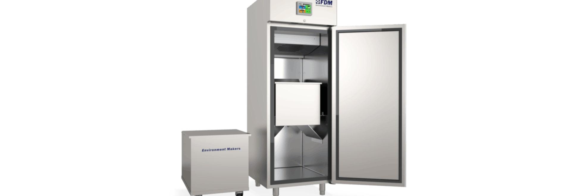 Chambre climatique pour les essais de gel
