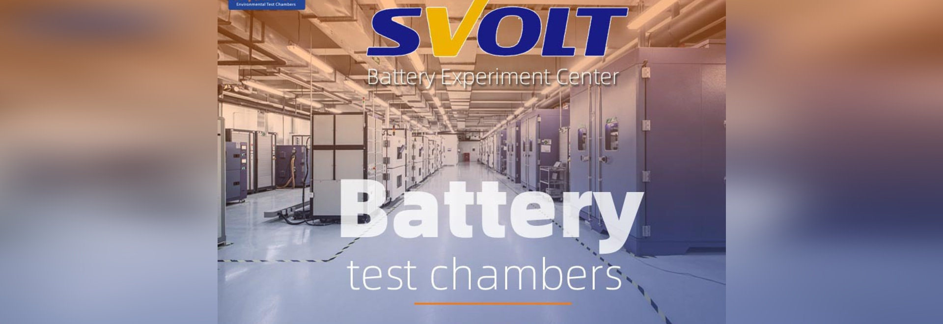 Chambre d'essai de sécurité de la batterie Li-Ion de Sanwood à l'SVOLT