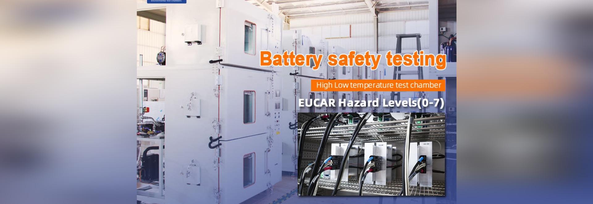 Chambre d'essai à trois couches à haute et basse température pour tester la sécurité des batteries