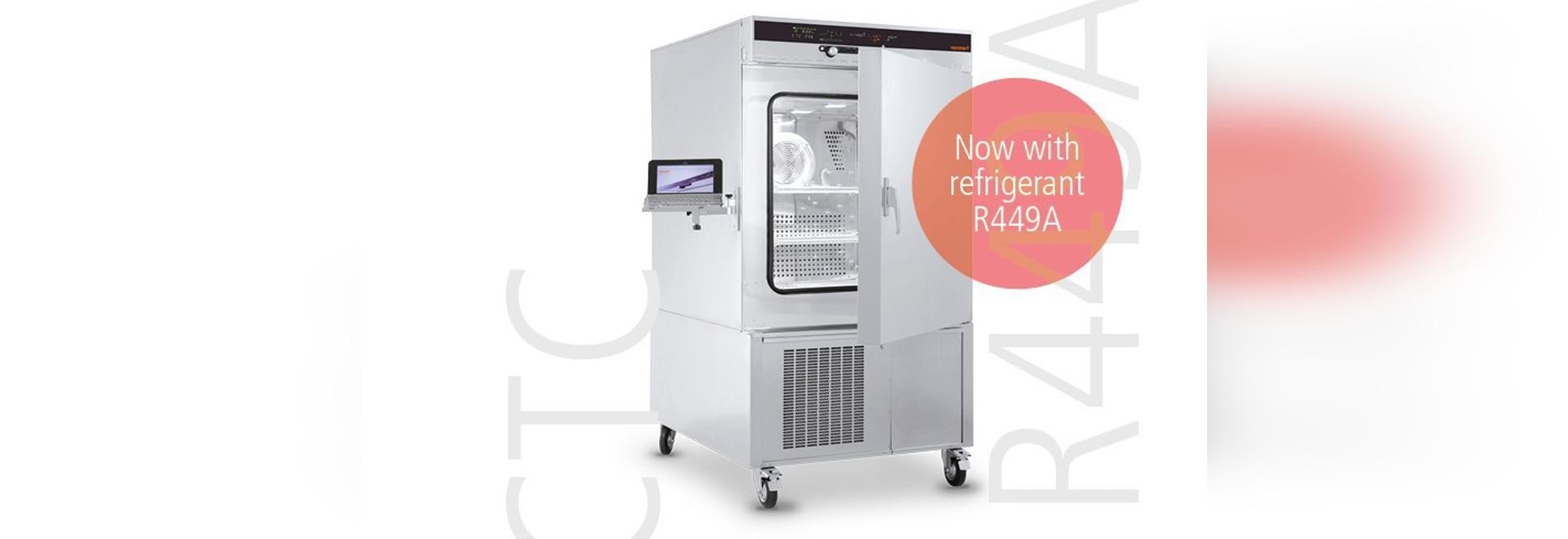 Chambres CTC/TTC d'essai concernant l'environnement de Memmert maintenant avec R449A réfrigérant
