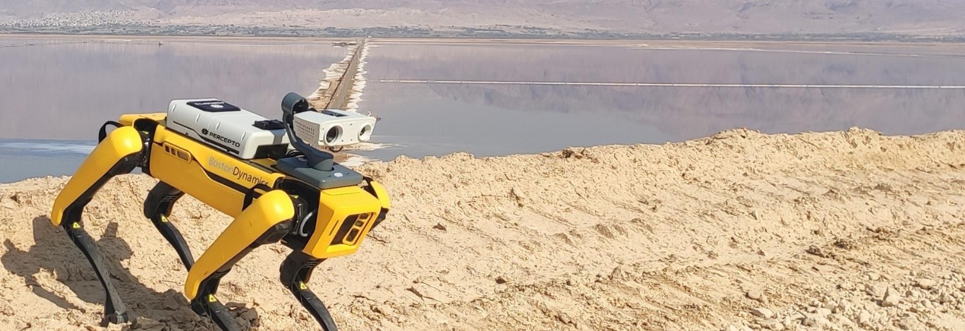 La combinaison du drone Sparrow de Percepto avec Spot crée une solution unique pour l'inspection à distance