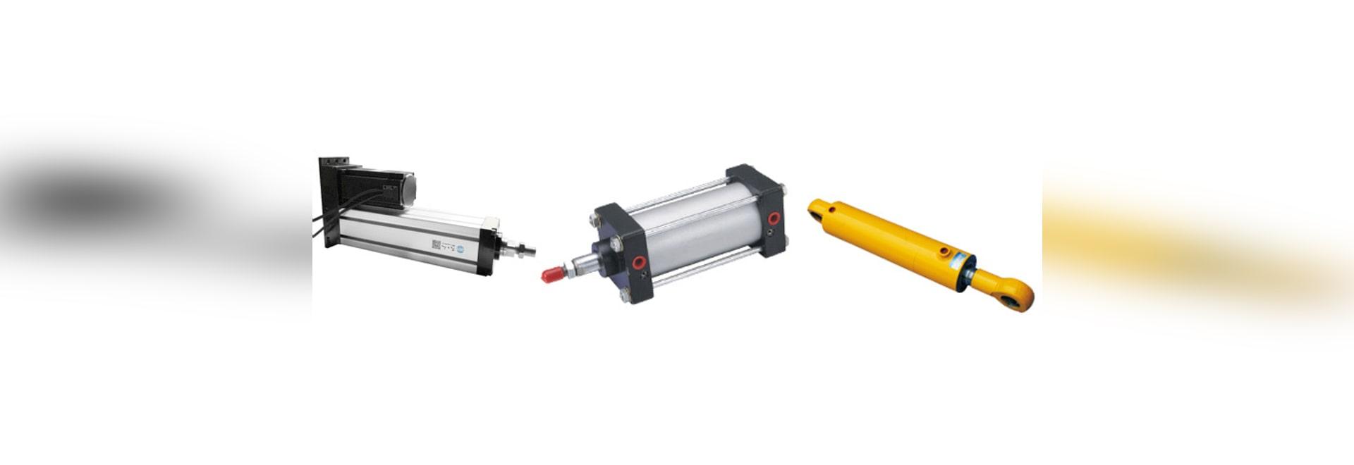 Comparasion pneumatique électrique de cylindres hydrauliques