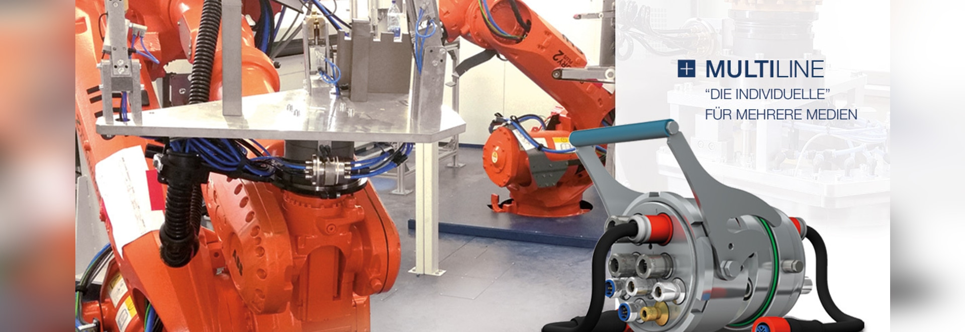 Couplage multiple MULTILIGNE pour les systèmes robotiques