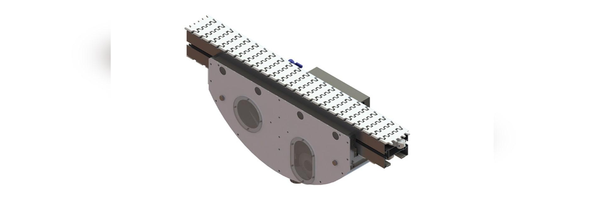 Dorner propose désormais des modules de nettoyage à sec et humide pour le nettoyage en continu sur les convoyeurs FlexMove