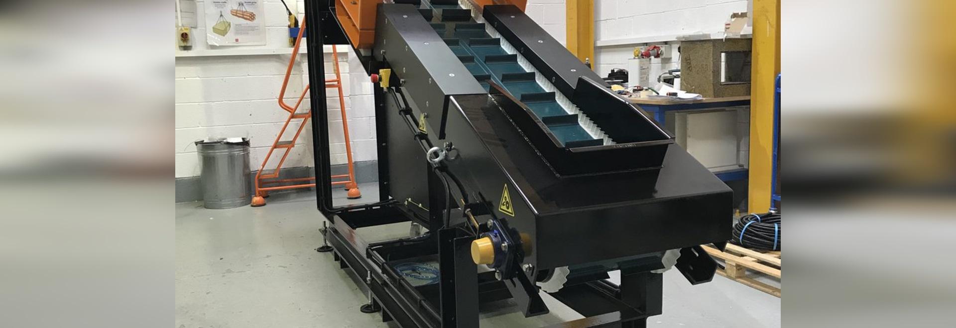 E-Z Tec 9000 R Détecteur de métaux avec système d'éjection pneumatique
