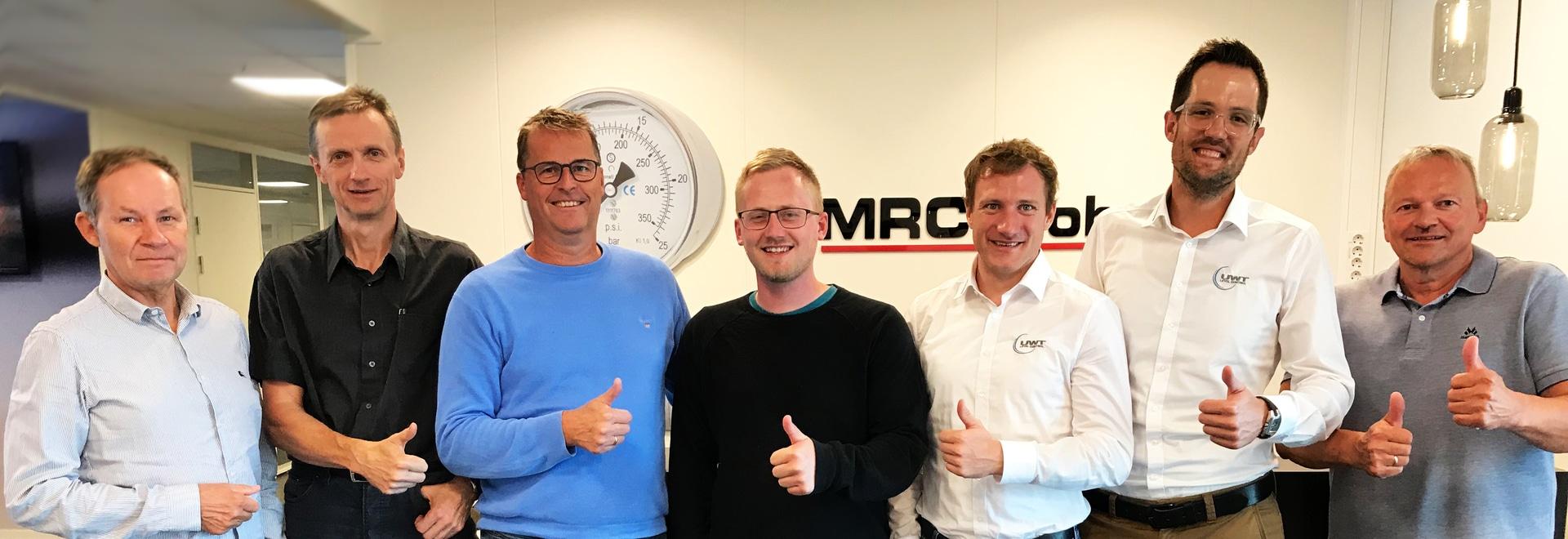 Une équipe de l'UWT en visite à la MRC Global en Norvège