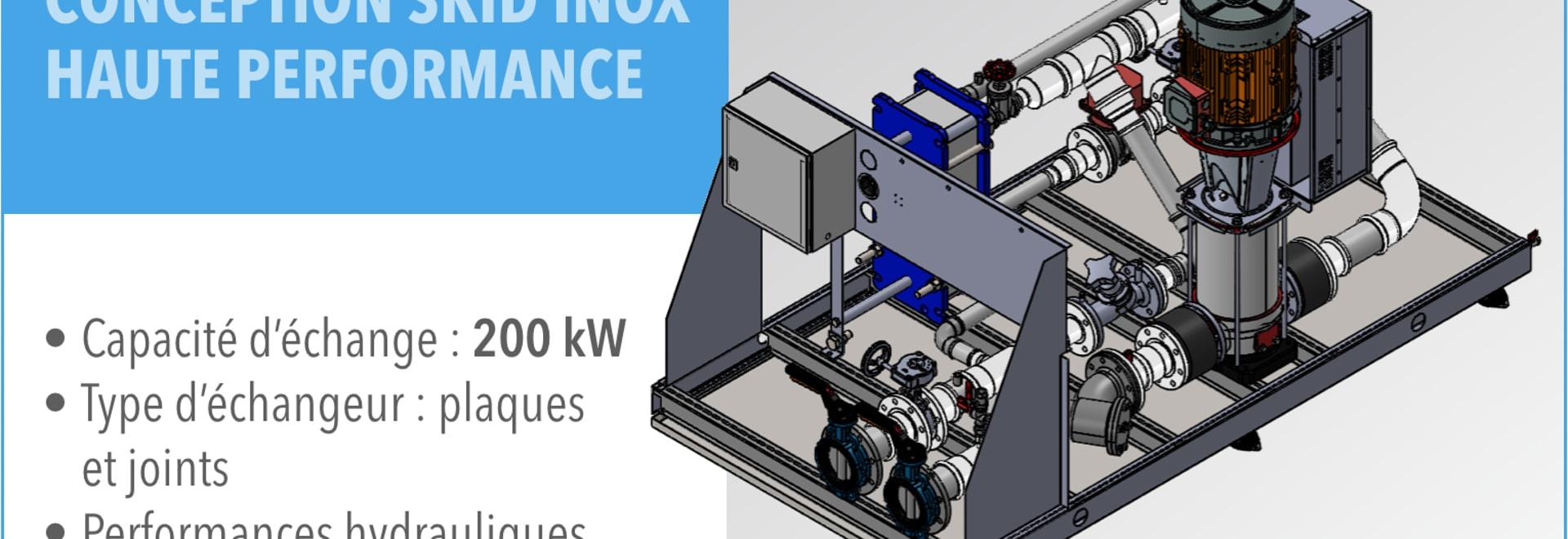EURODIFROID x @CERN // Skid hydraulique haute performance