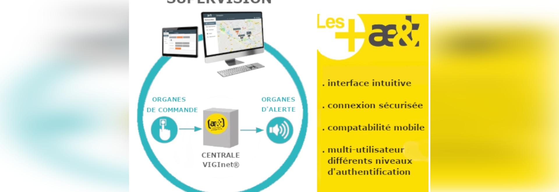 Évolution du système d'alerte et d'évacuation VIGInet® avec la nouvelle supervision