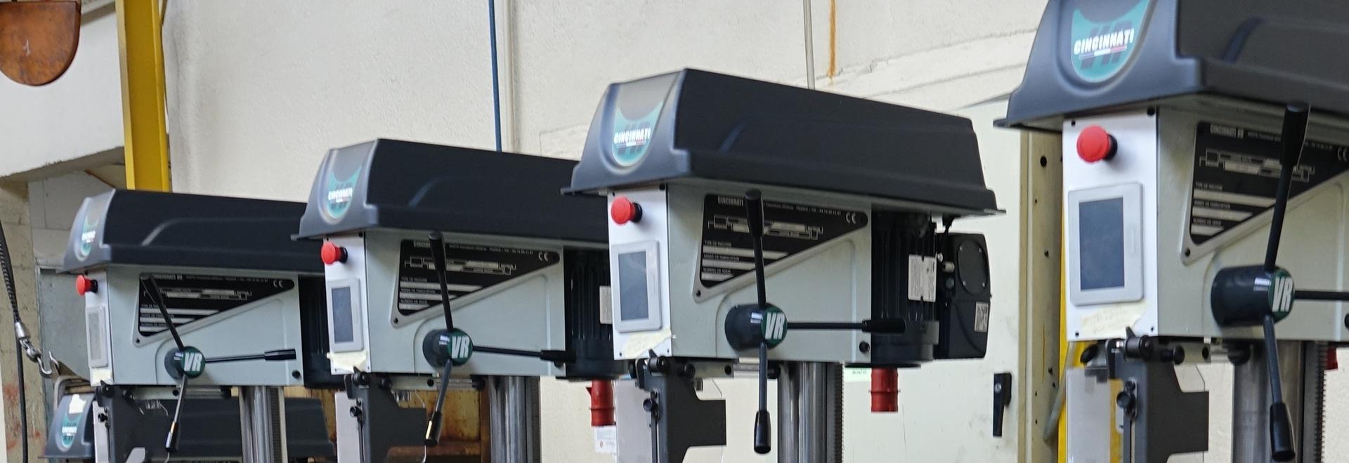 Le fabricant de machines-outils Cincinnati VR a retenu Commander ID 300 pour sa nouvelle gamme de perceuses