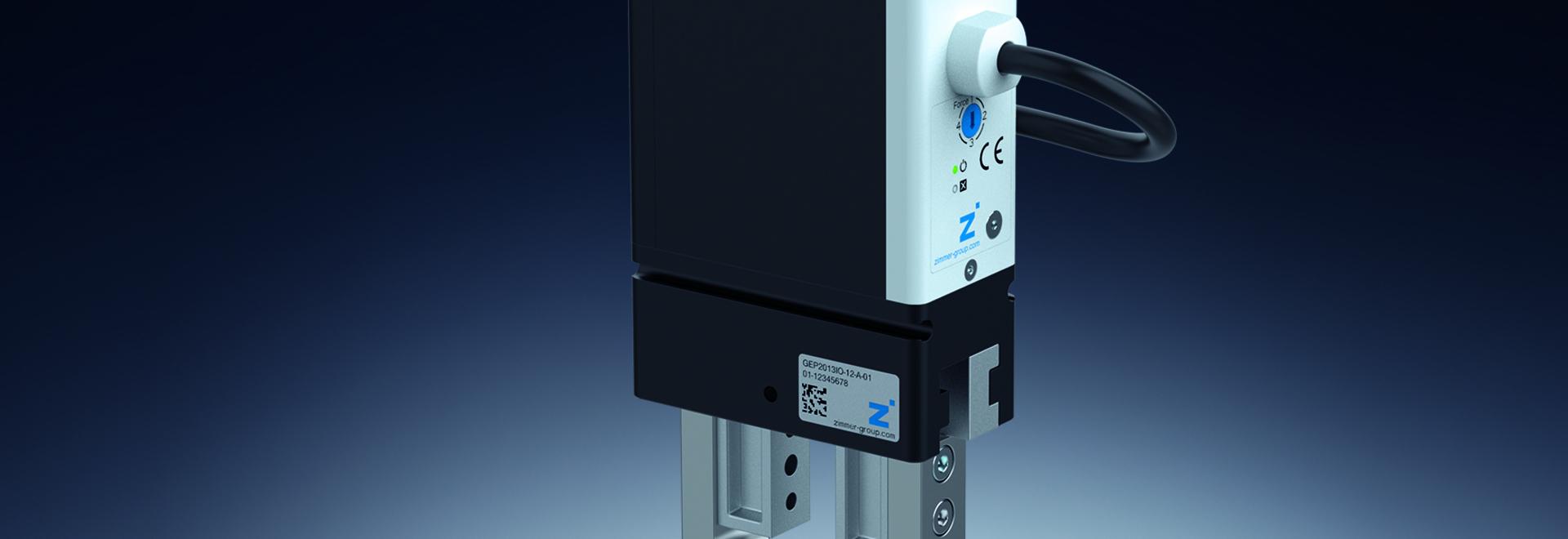 GEP2000-B - nouvelle variante optimisée de pince électronique pour la manipulation de petites pièces : modèles désormais disponibles avec positionnement libre et contrôle de perte de pièces