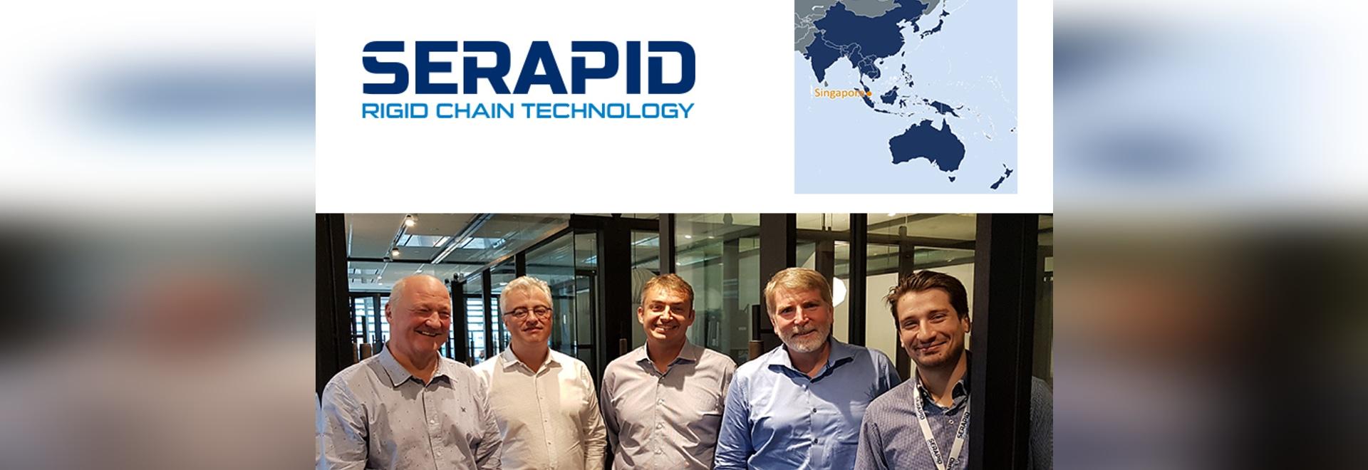 Le groupe SERAPID a le plaisir d'annoncer l'ouverture de sa filiale en Asie : SERAPID Singapore PTE LTD