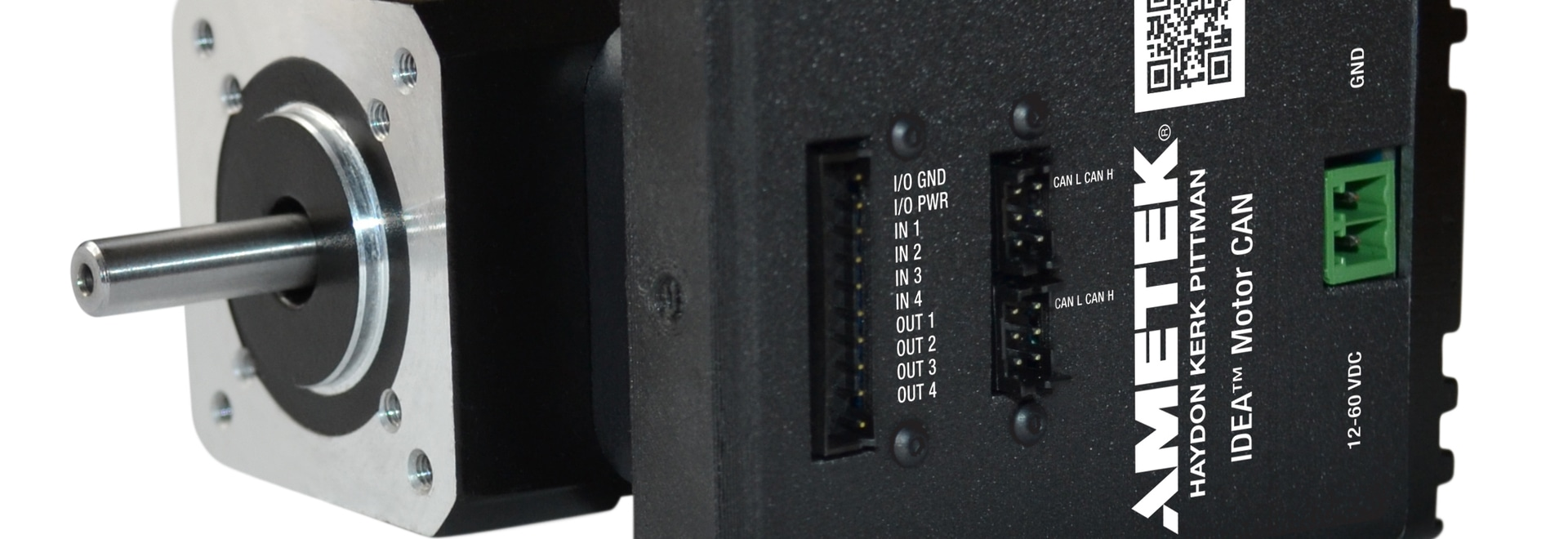 Haydon Kerk Pittman présente le moteur EC042B IDEA® avec CANopen