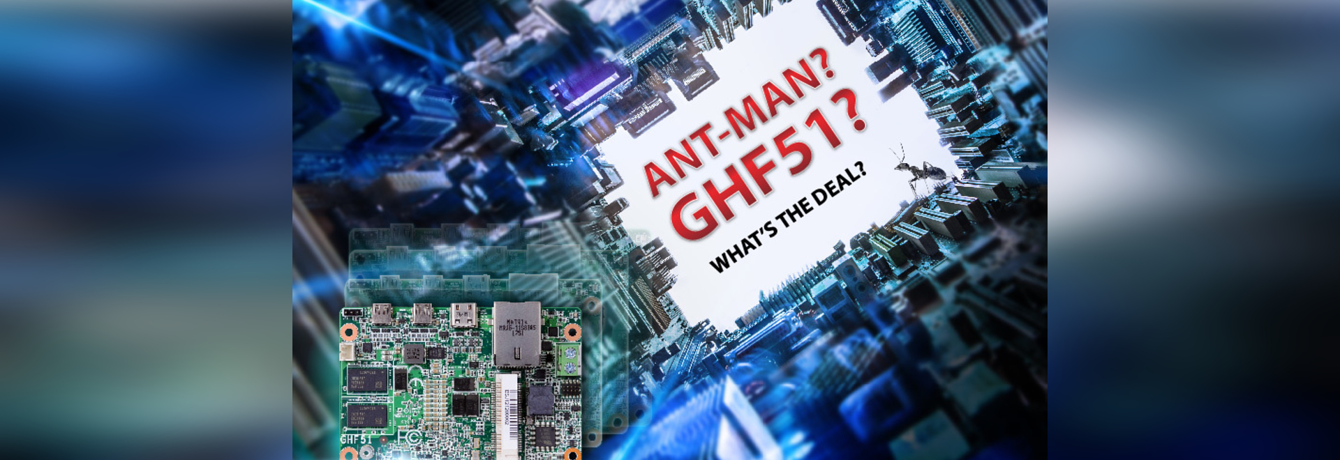 """Un homme fourmi ? GHF51 ? Quel est le problème ? Le dernier SBC 1.8"""" de la DFI va bouleverser votre vision de l'Edge"""