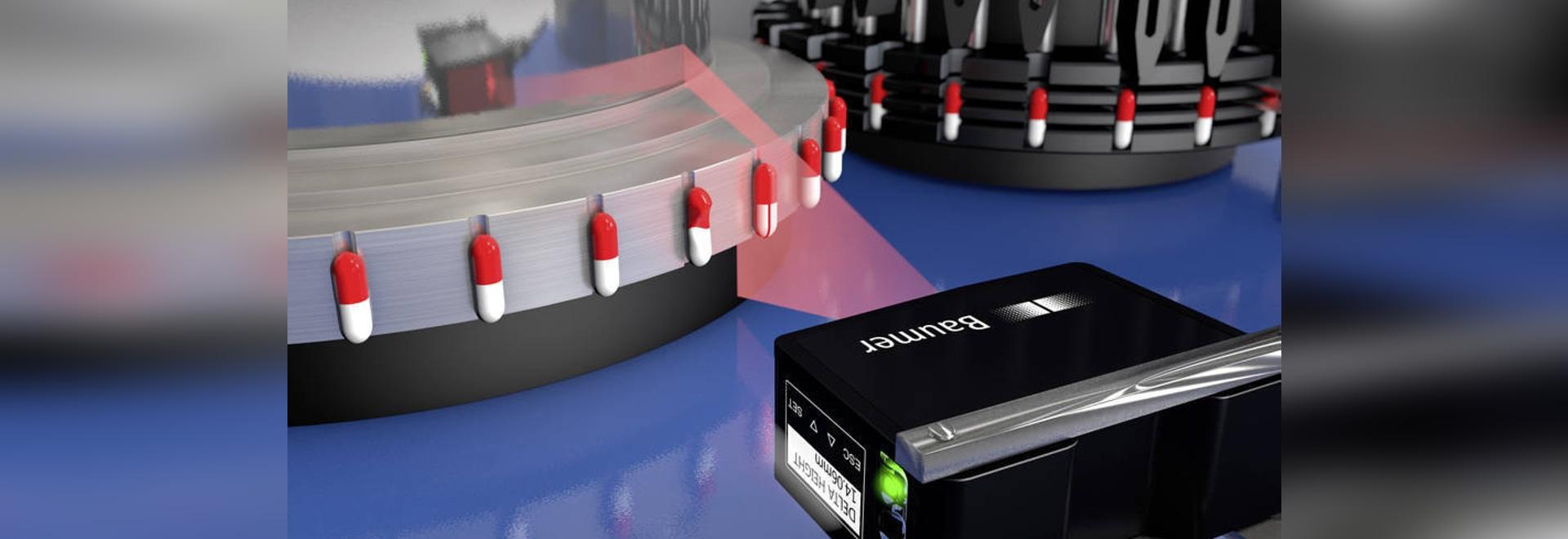 Innovation dans le domaine de l'inspection des pièces : détecteur « light sections » PosCon de Baumer