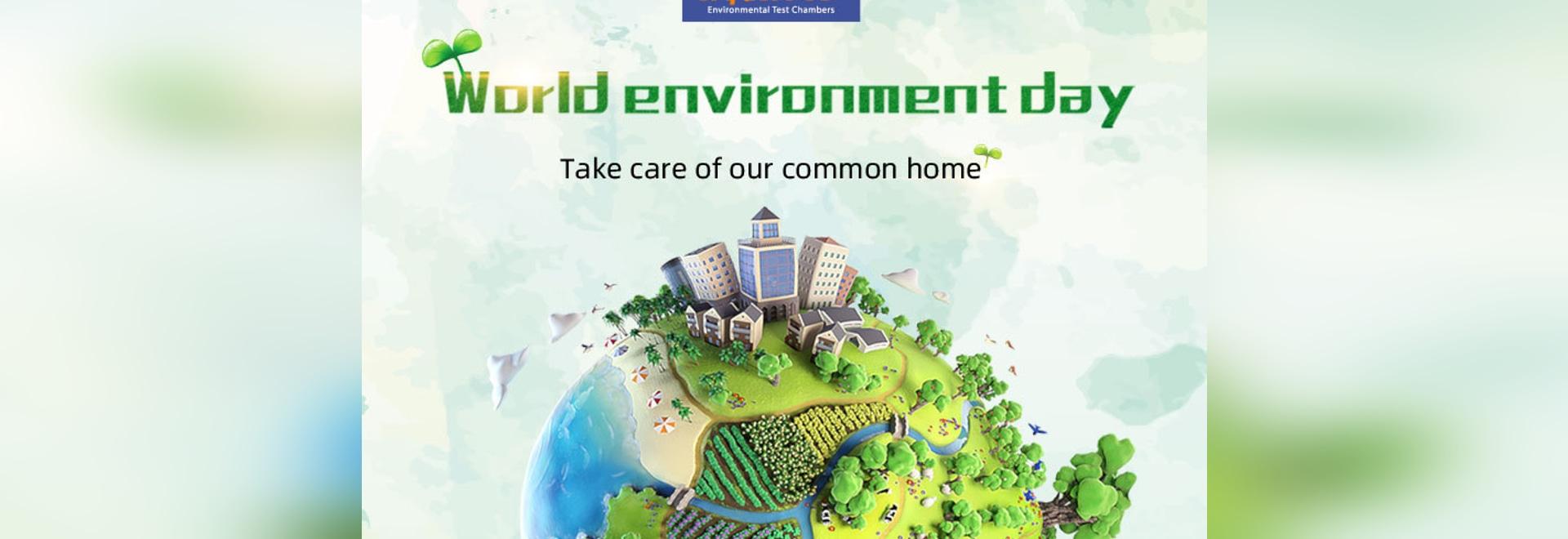 Journée mondiale de l'environnement | Chambres environnementales de Sanwood