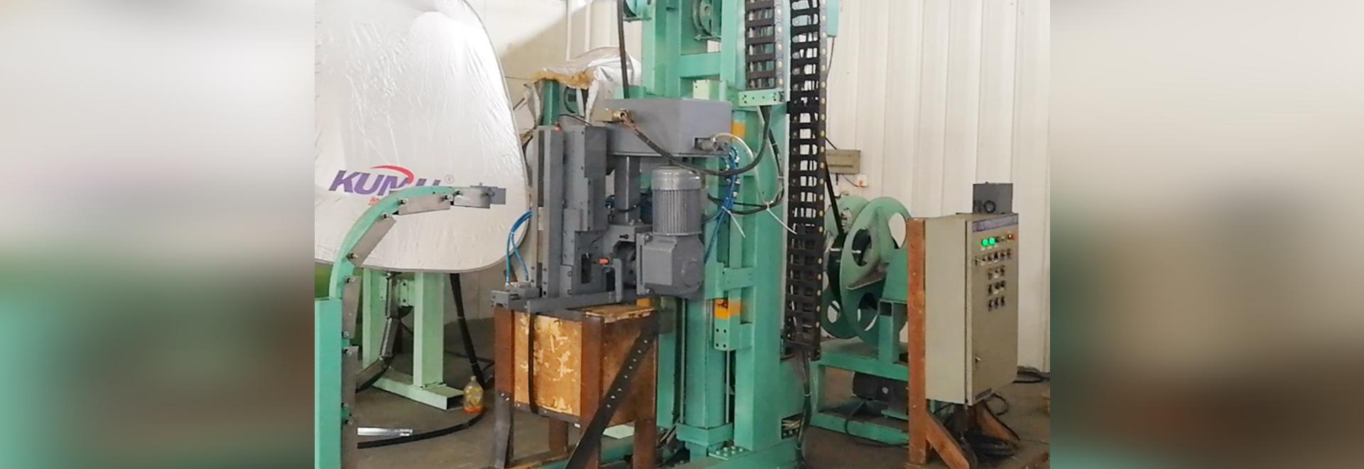 machine de cerclage en acier automatique avec la connexion de joint